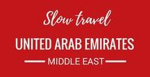UAE - United Arab Emirates / The Untied Arab Emirates or UAE is on our travel bucket list. We can't wait to travel to this amazing Asian destination.