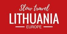 Lithuania / Although we are based in Belgium, we love to travel. Exploring Europe is one of the highlights of living here. We've not yet been to Lithuania, but you can bet, it's on our travel wish list!