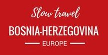 Bosnia Herzegovina / We love to travel. Exploring Europe is one of the highlights of living here. We've already visited Bosnia-Herzegovina and it's on our travel wish list to travel there again!