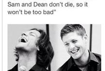 Supernatural / I finally had to create this board after seeing too many hilarious Supernatural pins. / by Robyn Cain