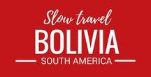 Bolivia / Bolivia is on our travel bucket list. We can't wait to travel to this amazing South American destination