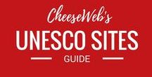 CheeseWeb's Big Board of UNESCO World Heritage Sites / We here at CheeseWeb LOVE visiting UNESCO World Heritage Sites around the world. With over 1000 sites on the current list, we have a long way to go. Use this board as inspiration for planning your own UNESCO adventure.