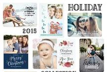 2015 Holiday Photo Cards / Photo Holiday Greetings and Party Invitations / by mistyqe