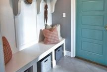 Mud Room / Mudroom entryway style, layout, and storage locker ideas