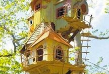 Tree Houses / One day I will move out of family home and into a tree house...