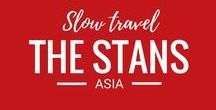 The Stans / The Stans are on our travel bucket list. We can't wait to travel to these amazing Asian destinations.