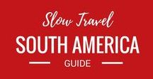 South America / Travelling around South America is on our travel bucket list. We can't wait to travel to this amazing continent.