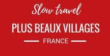 plus beaux villages du France / The Plus Beaux Village du France is a travel and tourism designation for villages under 2000 with at least 2 historic properties. Visiting these villages is a great way to slow travel through France.