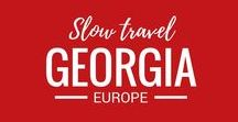 Georgia / We love to travel. Exploring Europe is one of the highlights of living here. We've not yet been to Georgia, but you can bet, it's on our travel wish list!