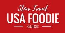 USA Foodie / We travel. We eat. This board is dedicated to foodie travel in the United States of America, the USA. Find restaurant reviews and great local food here.