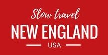 USA Travel - New England States / Travel in the New England states of the USA: Connecticut, Maine, Massachusetts, New Hampshire, Rhode Island, and Vermont