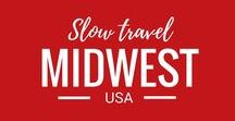 USA Travel - Midwest States / Travel in the Midwestern states of the USA: Illinois, Indiana, Michigan, Ohio, Wisconsin, Iowa, Kansas, Minnesota, Missouri, Nebraska, North Dakota, and South Dakota