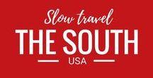 USA Travel - The South / Travel through the Southern states of the USA: Delaware, Florida, Georgia, Maryland, North Carolina, South Carolina, Virginia, Washington D.C., West Virginia, Alabama, Kentucky, Mississippi, Tennessee, Arkansas, Louisiana, Oklahoma, and Texas