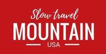 USA Travel - Mountain States / Travel in the Mountain states of the USA: Arizona, Colorado, Idaho, Montana, Nevada, New Mexico, Utah, and Wyoming