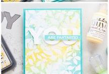 Card Inspiration - Inky