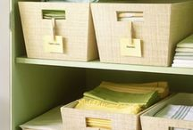 Organization envy!! / REALLY like these ideas! These women rock.  / by GOT5BOYS