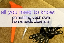 Homemade  - Household Products / Tips and recipes for DIY Home cleaners
