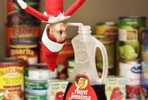 Elf On a Shelf / Holiday images with the Elf on a shelf ideas