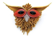 Fabulous Vintage Creatures / Where all the FABULOUS VINTAGE CREATURES LIVE. Fine vintage jewelry in the form of animals. 1980s and earlier.     --PLEASE NO COSTUME JEWELRY--