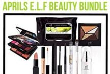 e.l.f cosmetics / My favorite place to purchase make up and accessories! I bought my entire professional make up kit as an MUA from them!
