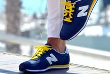 New Balance  / Their philosophy is simple. Listen, learn, and refine. It's an approach to technology that puts them face to face with world class athletes, every-day athletes, and non-athletes alike. Find them at PlanetShoes!   www.planetshoes.com/newbalance
