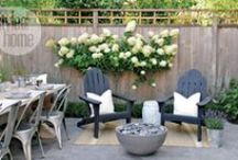 Houzz Guest Picks // Punch Up Your Patio Party This Summer / Spending time outdoors with my friends and family is one of my favourite ways to enjoy a warm summer night. Whether it's playing a game of horseshoes, or relaxing on the patio, I want my guests to enjoy my backyard and patio area as much as I do. If you're looking to entertain a crowd this summer, you're going to want to add these 20 punchy products to your pretty patio. / by Britt Stager // My Daily Randomness