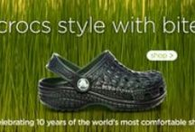 Crazy in Crocs  / Find boat shoes that feel like sneakers in Crocs. And with Crocs Cares, you can feel-good about your purchase. www.planetshoes.com/crocs