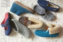 Slip into some comfy slippers / Your home for PlanetShoes' slipper selection, from #Acorn to #Halflinger!