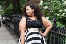 The Curvy Shopper / A feature on my blog featuring other plus size bloggers and their shopping faves.