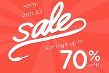 Semi-Annual Winter Clearance Sale  / Awesome boots and shoes at up to 70% off! #clearance #sale #planetshoes