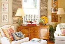 Romantic European Decor / We love the look of European decorative styling.