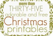 Christmas - Printables / Free or for purchase.