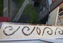 Mozaika, witraże i naklejki