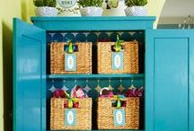 Organization Ideas / Organization ideas and inspiration for your home. / by Angie Countrychiccottage