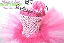 Tutu Dress  / All handmade tutu dresses can be made in different sizes as well.