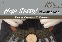 HIGH SPEED! HANDBAGS [Knit or Crochet in 7-10 Hours] / Give your outfit the finishing touch with a knit or crochet handbag!