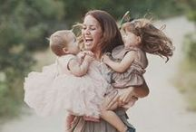 Motherhood / Sweet, inspiring photos of mommies, babies, and families. / by Cat Nielsen