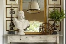 Traditional Home / Classic and timeless decorating ideas.