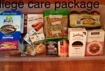 Gluten-Free College Care Package / Your gluten-free college student will love care packages with these treats!
