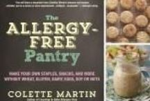 An Allergic Foodie's Reading List / Cookbooks to help you make foods that won't make you sick. Memoirs to let you know you're not alone.  Nonfiction to lead the way.
