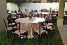9.7.13 Birthday Soiree - Private Residence / Chiavari Chairs, Tables, Linens, Table Runners, Overlay, Butterflies & Cake Base by: Eventiste Fine Linens & Event Rentals  Flowers by: Frankie (our newest Eventiste Family Member ♥)  Cake by: CakeCraze  Catering/Paella by: Royal Paella  786.395.2101