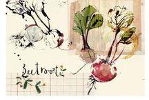 Food Art & Illustrations