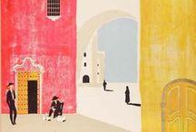 Travel Art & Illustrations
