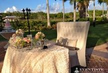 11.23.2013 Wedding Ceremony & Reception - The Thalatta Estate / Chiavari Chairs, Tables, Linens, Napkins by: Eventiste Fine Linens & Event Rentals  Event Coordination/Planning, Chuppah & Floral Arrangements by: Exquisite Affaires - Weddings & Events   Cake by:  info. coming soon!  Candy Station Table by: info. coming soon!  Catering by:  info. coming soon!  Guest Favors (Macaroons) by: Atelier Monnier - The French Bakery