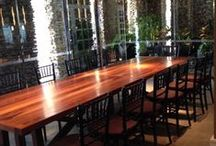 11.07.13 Corp. Event - Bourbon Steak Restaurant / Chiavari Chairs by: Eventiste Fine Linens & Event Rentals  Event Design & Coordination by: Serena Westwell - Westwell Inc. Production Company  310-123-4567 www.serenawestwell.com