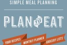 """Plan to Eat"" Meal Planner / All about the wonderful online meal planning tool called ""Plan to Eat""."