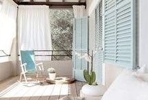 Decor - Porches / Pretty porches.