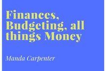 Finances, Budgeting, all things Money