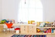 Kid's rooms + play/learning spaces / by Casey Hutcherson