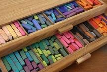 Kids Art - Pastels/Chalk/Crayons
